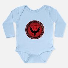 Styxx Was Framed Long Sleeve Infant Bodysuit