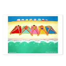 Summer Sun Beach Postcards (Package of 8)