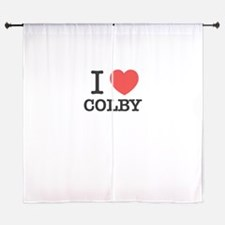 I Love COLBY Curtains
