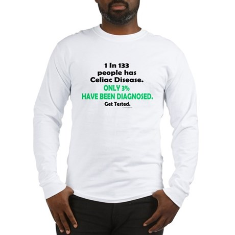 1 In 133 Has Celiac Disease 1.3 Long Sleeve T-Shir