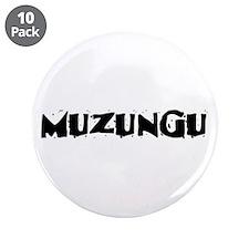 "Muzungu 3.5"" Button (10 pack)"