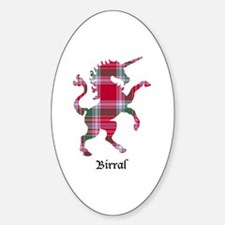 Unicorn - Birral Sticker (Oval)