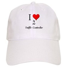 I Love My Air Traffic Controller Baseball Cap