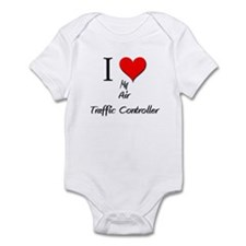 I Love My Air Traffic Controller Infant Bodysuit