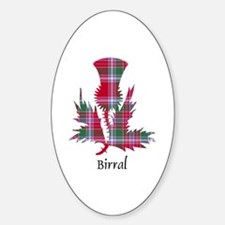 Thistle - Birral Sticker (Oval)