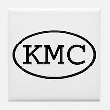 KMC Oval Tile Coaster