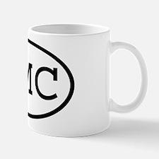 KMC Oval Mug