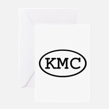 KMC Oval Greeting Card