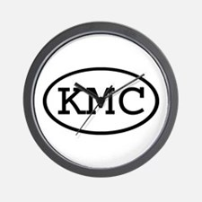 KMC Oval Wall Clock