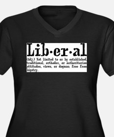Definition of Liberal Plus Size T-Shirt