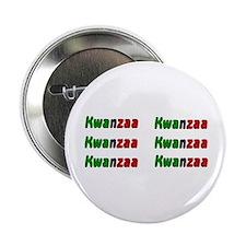 """Kwanzaa 2.25"""" Button"""
