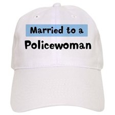Married to: Policewoman Baseball Cap