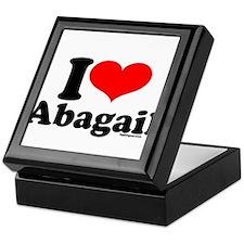 Cute Abagail Keepsake Box