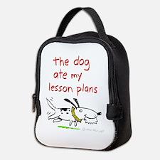 Dog Ate Lesson Plans Neoprene Lunch Bag