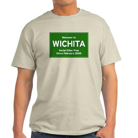 BTK-Free Wichita Ash Grey T-Shirt
