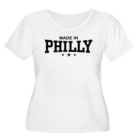 Made in Philly Women's Plus Size Scoop Neck T-Shir