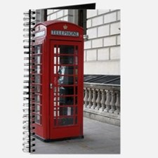 Unique Red phone box Journal