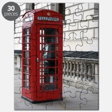 Cute Red phone box Puzzle