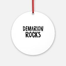 Demarion Rocks Ornament (Round)