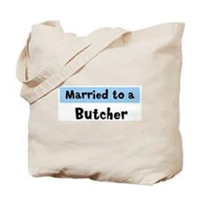 Married to: Butcher Tote Bag