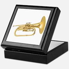 Horn Brass Keepsake Box