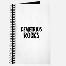 Demetrius Rocks Journal