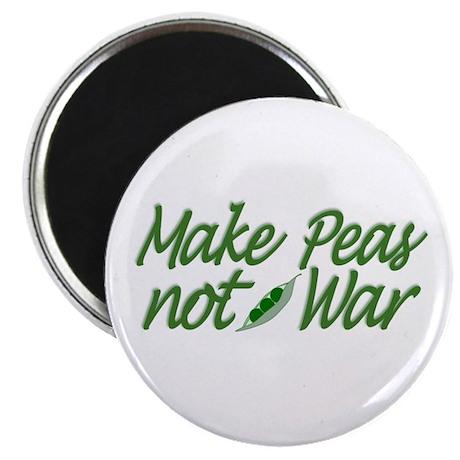 Make Peas not War Magnet