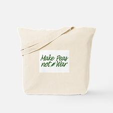 Make Peas not War Tote Bag
