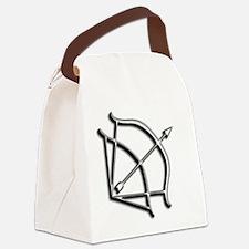 Dark-Hunter Bow Canvas Lunch Bag