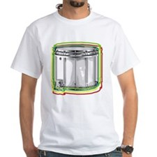 Marching Snare Drum Neon Shirt