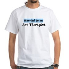 Married to: Art Therapist Shirt