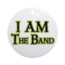 I AM The Band Ornament (Round)