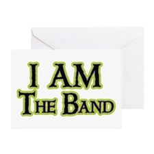 I AM The Band Greeting Card