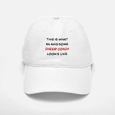 awesome cheer coach Baseball Baseball Cap