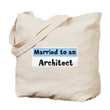 Married to: Architect Tote Bag
