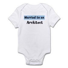Married to: Architect Infant Bodysuit