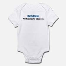 Married to: Architecture Stud Infant Bodysuit