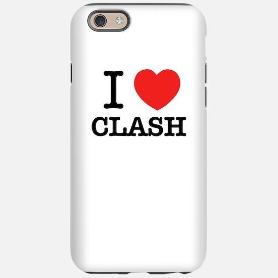 I Love CLASH iPhone 6/6s Tough Case
