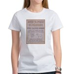 Poachers Beware Women's T-Shirt