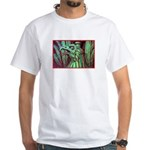 Eagle Psychedelic White T-Shirt