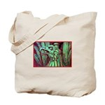 Eagle Psychedelic Tote Bag