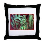 Eagle Psychedelic Throw Pillow
