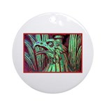 Eagle Psychedelic Ornament (Round)