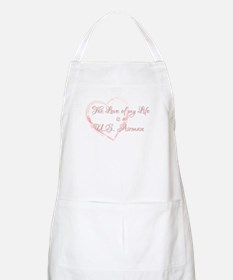 Love of my Life is a Airman BBQ Apron