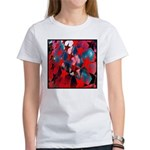 USA Stars Psychedelic Flag Women's T-Shirt