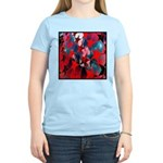 USA Stars Psychedelic Flag Women's Light T-Shirt