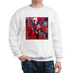 USA Stars Psychedelic Flag Sweatshirt