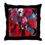 USA Stars Psychedelic Flag Throw Pillow