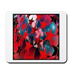 USA Stars Psychedelic Flag Mousepad