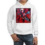 USA Stars Psychedelic Flag Hooded Sweatshirt